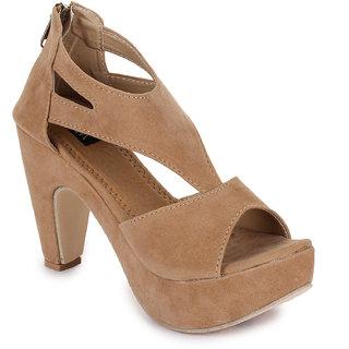 Walkfree Casual Beige Sandals