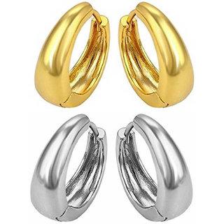 Men Style Men Jewellery Sterling Silver Gold  Stainless Steel  Hoop Earring