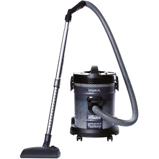 Impex VC-4704 Multi-Purpose Dry Vacuum Cleaner (1800 Watts ,Gray-Made in Turkey)