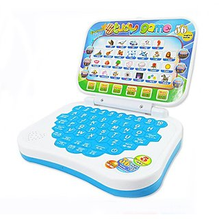 Educational Learning Machine Computer Laptop Game Toy Baby Children Electronic Notebook Kids Toys Education Multicolor