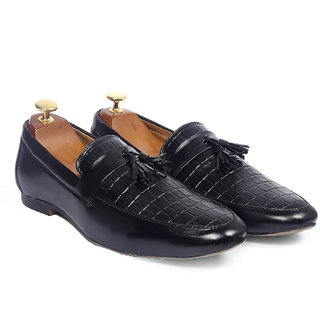 buy global rich men's casual synthetic leather loafer
