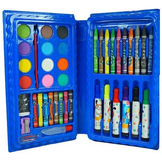 Kidz 42 Pcs Color Set , Crayons,Oil Pastel,Sketch Pen Set