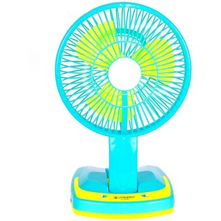 Rechargeable Portable Mini Fan With Led Light