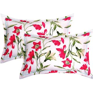 BSB HOME 2 Piece Cotton Pillow Cover Set - 20x30