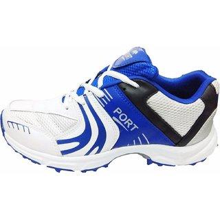 Port Unisex Adult Blue Razzer Cricket Shoes