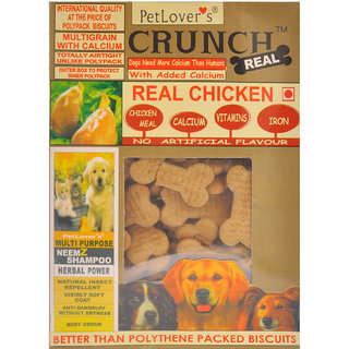 Petlovers CRUNCH REAL 900GM