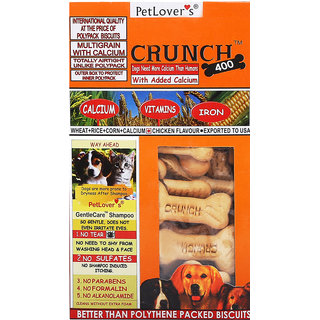Petlovers CRUNCH CHIKEN 400GM