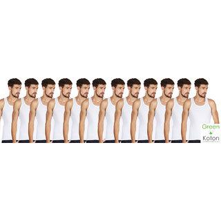 Green Koton - Maxi mens vests pack of 12
