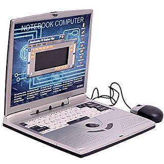 22 Activities  Games Fun Laptop Notebook Computer Toy For Kids