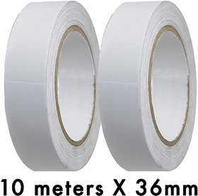 VCR Double Side Tissue Tape - 10 Meters in Length - 36mm / 1.5 Width - 2 Rolls Per Pack
