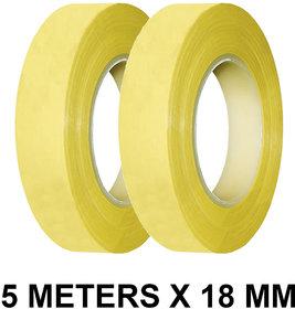 VCR Double Side Foam Tape - 5 Meters in Length - 18mm / 0.75 Width - 2 Rolls Per Pack