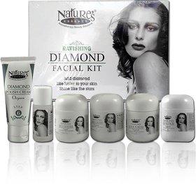 Nature's Essence Ravishing Diamond facial kit 250 g (Set of 6)