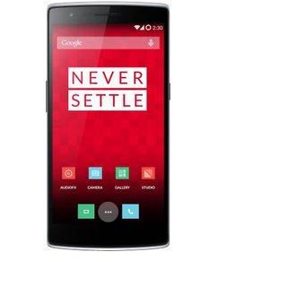 Refurbished OnePlus One (Sandstone Black  3/64GB)