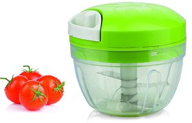 Ankur All in One Smart Food Chopper, Vegetable Cutter and Food Processor, Green