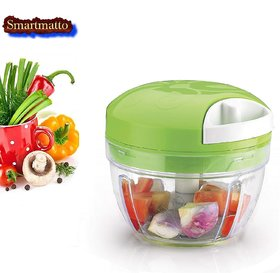 smart matto One Smart Food Chopper, Vegetable Cutter and Food Processor, Green      General     Variant Opt